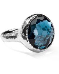 Ippolita Lollipop London Blue Topaz Ring - Metallic