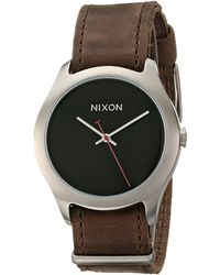 Nixon The Mod Leather - Lyst
