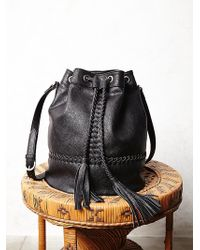 Free People Tempest Bucket Bag - Lyst