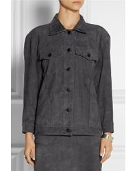 Title A Suede Jacket - Lyst