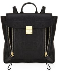 3.1 Phillip Lim Black Pashli Backpack - Lyst