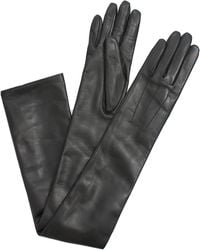Lanvin Long Leather Glove - Lyst