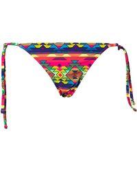 Forever 21 Day Tripping String Bikini Bottom - Lyst