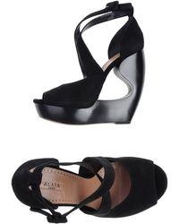 Alaïa Sandals - Lyst