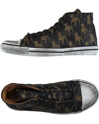 Black Dioniso High-tops & Trainers - Natural