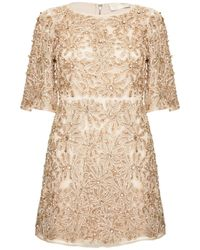 Alice + Olivia Drina Bell Sleeve Dress - Lyst