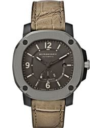 Burberry The Britain Automatic Power Reserve Watch - Lyst