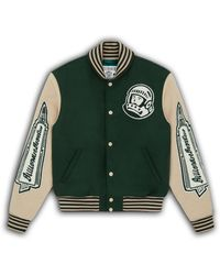BBCICECREAM Astro Varsity Jacket - Green