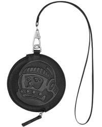 BBCICECREAM Leather Coin Pouch - Black