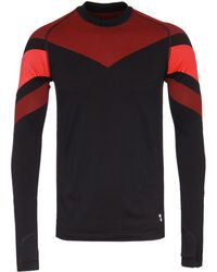 Every Second Counts - Black Long Sleeve Circuit Tech Top - Lyst