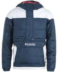 Columbia - Lodge Pullover Jacket - Blue - Lyst