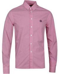 Henri Lloyd Linton Red Check Shirt