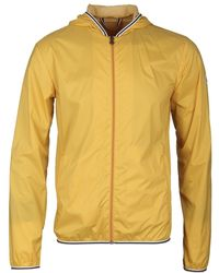 37c6791d4 Yolk Yellow Hooded Waterproof Hendrick Light Jacket