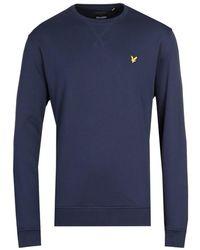 Lyle & Scott Navy Sweatshirt - Blue