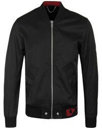 DIESEL J-gate Black Bomber Jacket