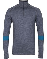 Every Second Counts Grey Unwind Quarter Zip Top - Gray