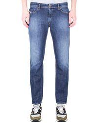 DIESEL Thavar-xp Pantaloni Slim Fit Mid Blue Light Wash Denim Jeans