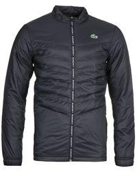 Lacoste Black Zip Through Jacket