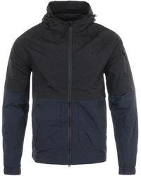 MA.STRUM Nt Nylon Hooded Jacket - Black