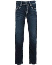 True Religion Rocco Skinny Fit Super T Blue Denim Jeans