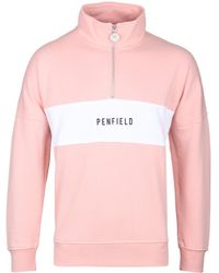 Penfield - Orchid Pink Hosmer Sweat - Lyst
