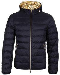 Emporio Armani Reversible Padded Jacket Navy - Blue