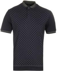 Creative Recreation - Black House Pattern Polo Shirt - Lyst