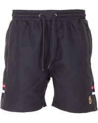 Luke 1977 Tapehead Swim Shorts - Black