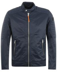 DIESEL J-shiro Giacca Jacket - Navy - Blue