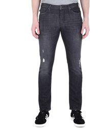 Emporio Armani Black Denim Wash J06 Slim Fit Jeans