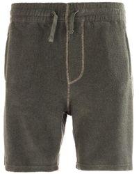 Armor Lux Bermuda Terry Green Shorts
