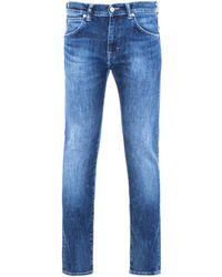 Edwin - Ed-85 Slim-tapered 12.8 Oz Reoki Wash Yuuki Blue Denim Jeans - Lyst