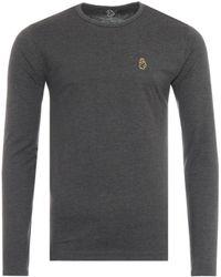 Luke 1977 Trousersnake Long Sleeve T-shirt - Grey
