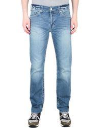 True Religion Geno Slim Fit Blue Jeans