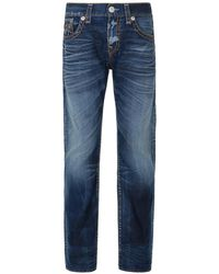 True Religion - Ricky Saltwater Blue Super T Jeans - Lyst