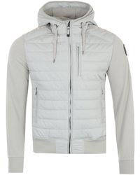 Parajumpers Ivor Puffer Hooded Sweatshirt - Grey