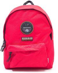 Napapijri Voyage Two Red Backpack