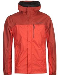 Columbia Blue Pouring Adventure Ii Jacket for Men - Lyst