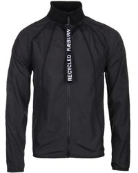 Christopher Raeburn Black Nylon Tape Lightweight Jacket