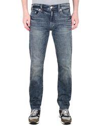 True Religion Geno Slim Blue Wash Jeans