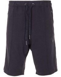 True Religion Bejewelled Horseshoe Sweat Shorts - Black