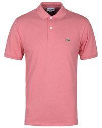 Pink Shirt Pique Rosa Polo Marl Classic Fit wZ80OPNknX