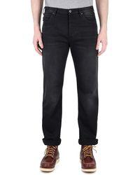 Emporio Armani J21 Black Tonal Stitch Regular Fit Jeans