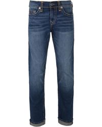 True Religion - Blue Ejgm Indigo Luxe Geno No Flap Super T Jeans - Lyst