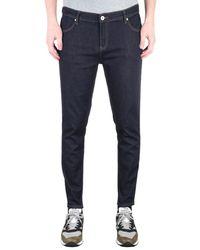 Farah Howells Bleach Super Slim Fit Denim Jeans - Blue