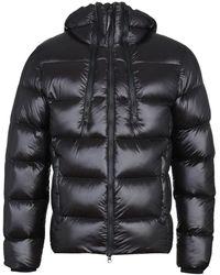 C P Company Primaloft Insulated Black Goggle Jacket