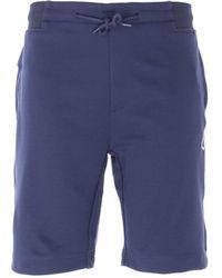MA.STRUM Tech Sweat Shorts - Blue