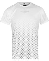 Creative Recreation - Ombre White Pattern Tee - Lyst