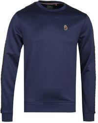 Luke 1977 Trico Navy Sweatshirt - Blue
