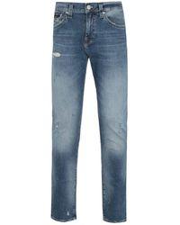 True Religion Geno Slim Fit Blue Denim Jeans